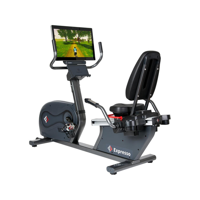 Expresso GO Recumbent Exercise Bike - Indoor Fitness Direct