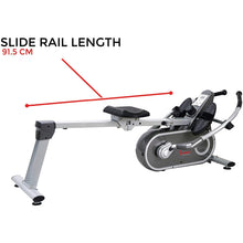 Load image into Gallery viewer, Full Motion Magnetic Rowing Machine