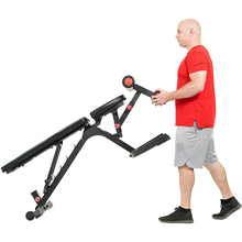 Load image into Gallery viewer, Fully Adjustable Power Zone Utility Heavy Duty Weight Bench With 1000 Lb Max Weight