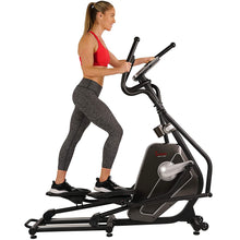 Load image into Gallery viewer, Magnetic Elliptical Machine W/ Device Holder, LCD Monitor and Heart Rate Monitoring - Circuit Zone