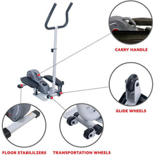 Load image into Gallery viewer, Magnetic Standing Elliptical with Handlebars