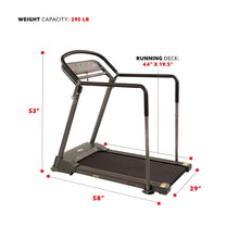 Load image into Gallery viewer, Recovery Walking Treadmill W/ Low Pro Deck and Multi-Grip Handrails for Mobility/balance Support