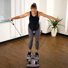 Load image into Gallery viewer, Versa Stepper Step Machine W/ Wide Non-slip Pedals, Resistance Bands And LCD Monitor