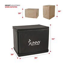 "Load image into Gallery viewer, Wood Plyo Box W/ Removable Cover, 500lb Weight Capacity & 3 In 1 Height Adjustment - 30""/24""/20"""