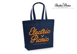 Electric Orange Tote Bag