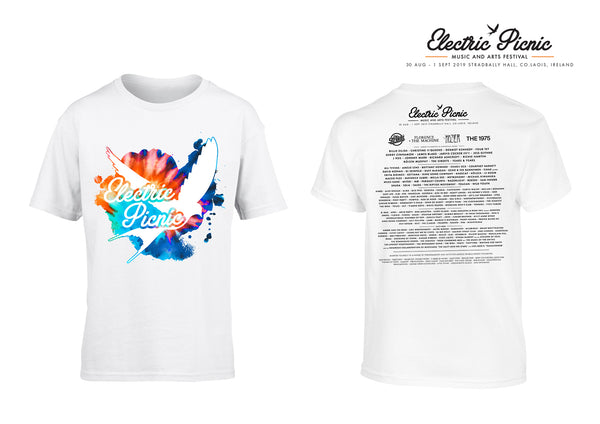 Electric Picnic 2019 White Line Up Kids T-Shirt