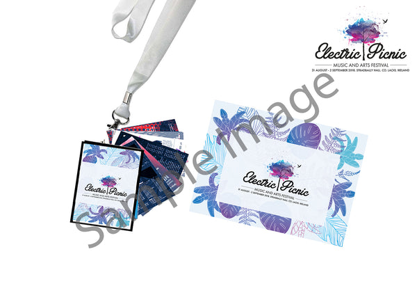 Electric Picnic 2021 Programme & Lanyard Pack
