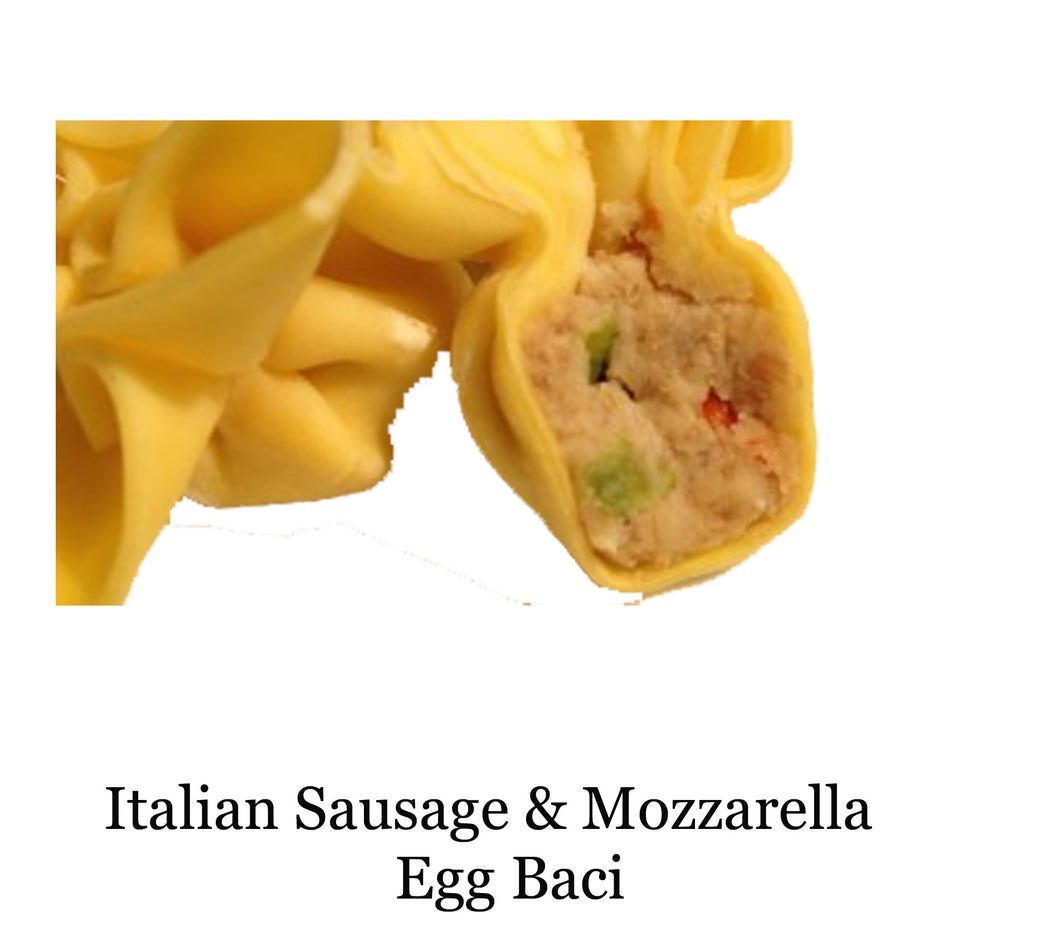 Italian Sausage & Mozarella Egg Baci  *NOT AVAILABLE FOR SHIPPING