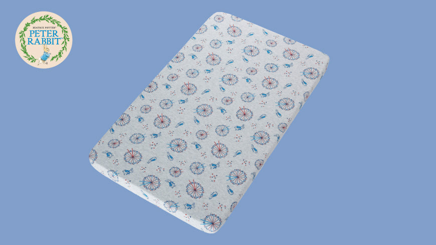 【NEW Peter Rabbit Baby Beddings】100% Combed Cotton with Eco-dye