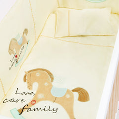 LONDON HORSE BEDDING SET 8 pcs
