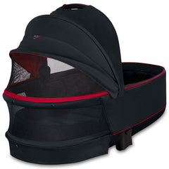 PRIAM LUX CARRY COT FERRARI - VICTORY BLACK
