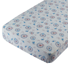 LONDON FERRIS FITTED SHEET (L) 120*60CM