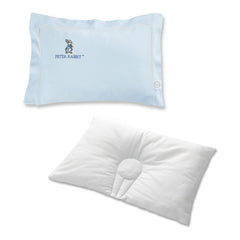 DUPONT™ SORONA® INDENTED PILLOW WITH PILLOWCASE (S) LIGHT BLUE