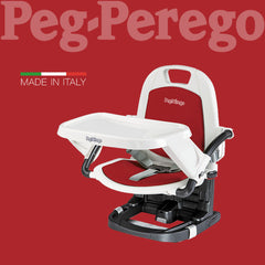 PEG PEREGO RIALTO BOOSTER CHAIR - RED