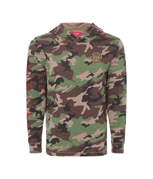 Arturo Fuente FFOX Camo Hooded Long Sleeve Shirt (One Set = 10 Units - 2 Per Size)