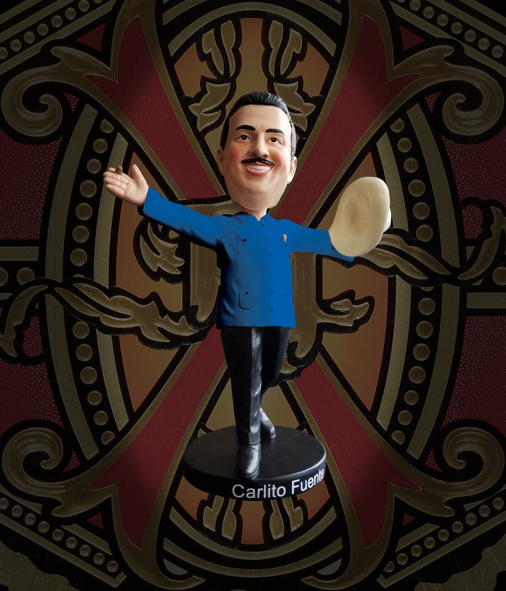 Arturo Fuente Carlito Fuente Jr. Bobble Head - Blue