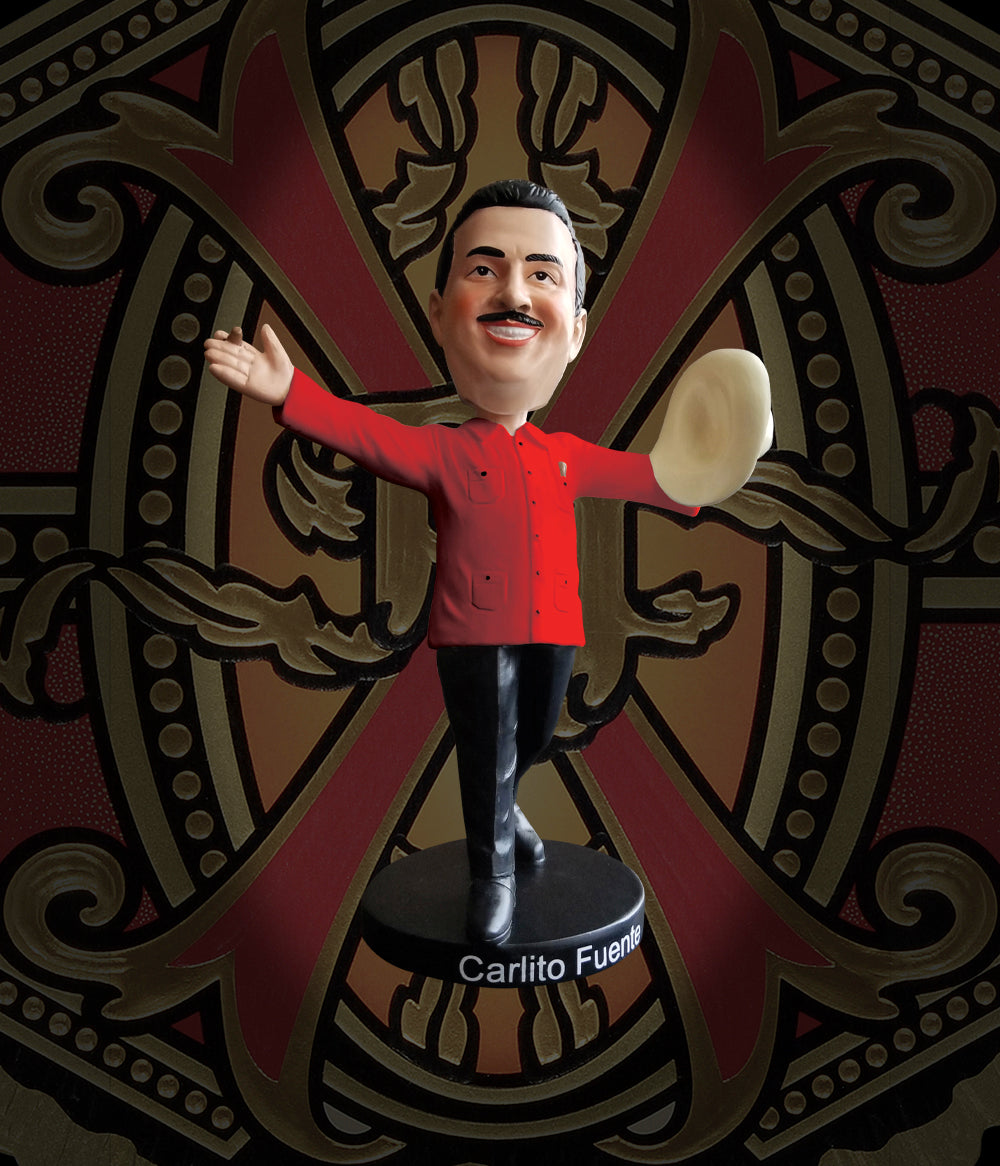 Arturo Fuente Carlito Fuente Jr. Bobble Head - Red