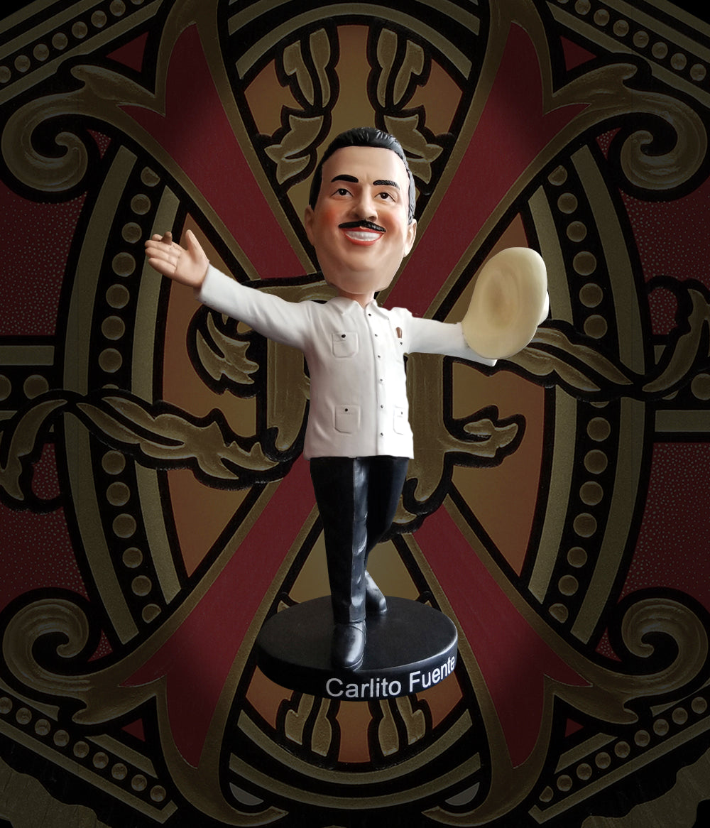 Arturo Fuente Carlito Fuente Jr. Bobble Head - White