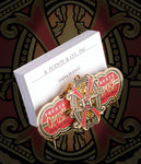 Arturo Fuente FFOX Christmas Ornament & Card Holder Stand