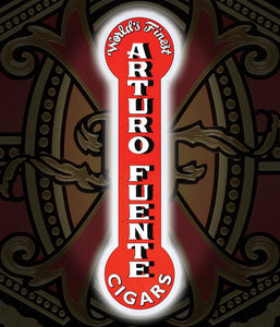 Arturo Fuente Cigars Led Embossed Sign 8x30 (1 Unit)