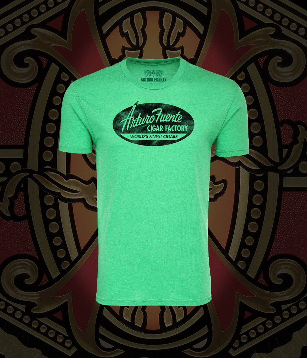 Arturo Fuente Cigar Factory Green Comfy Men's T-Shirt