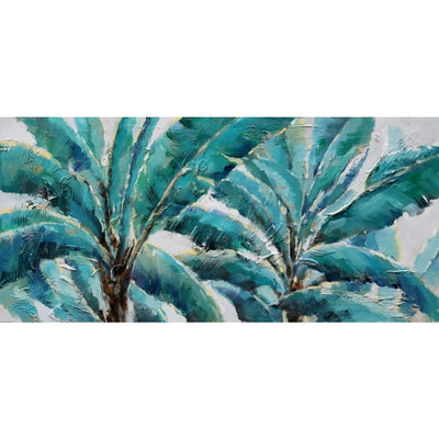 Palms I Oil Canvas 60x120