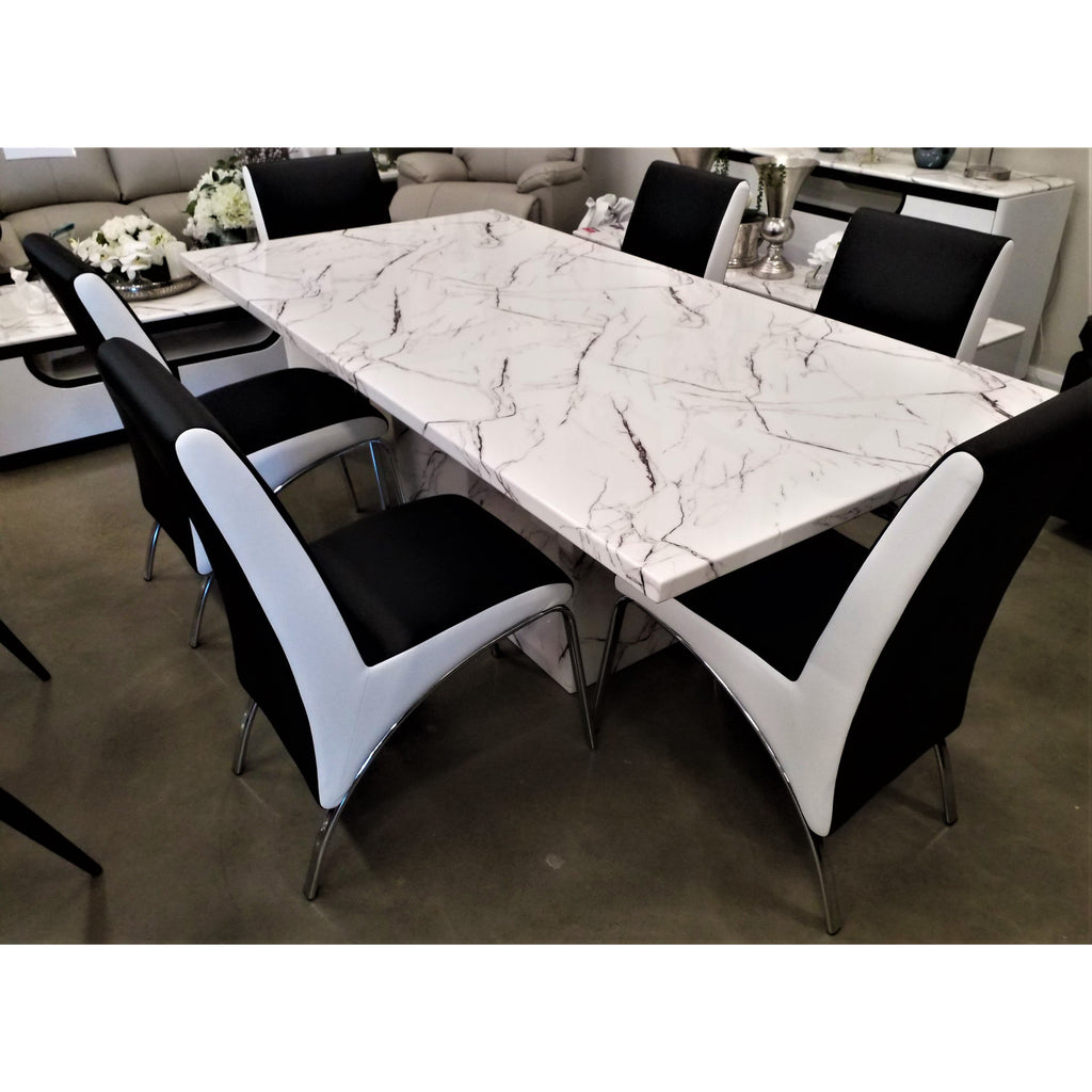 Mozart 7 Piece Dining Set