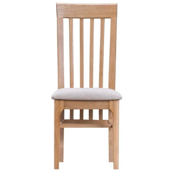 Lithgow Slat Back Fabric Chair NT-CSF