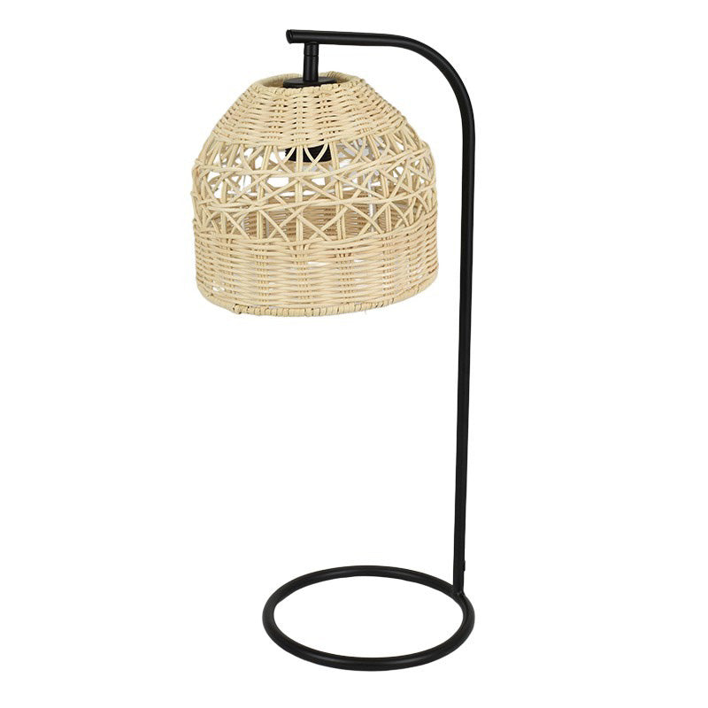 Thala Metal/Rattan Table Lamp 35x50cm
