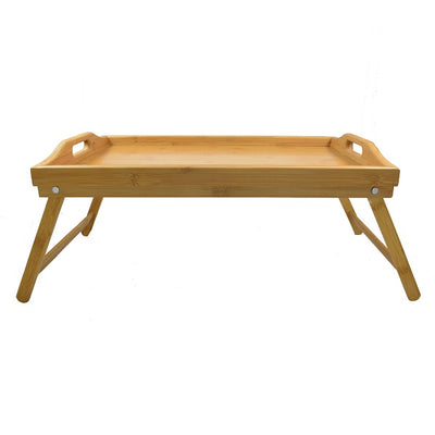 50x30cm Bamboo Serving Tray W-Legs
