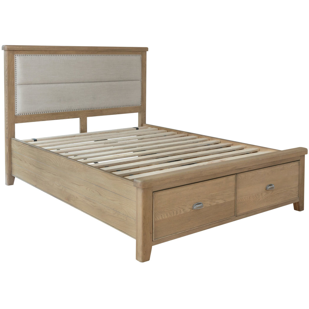 Stoneridge Double Bed With Drawers HO-46-FHB