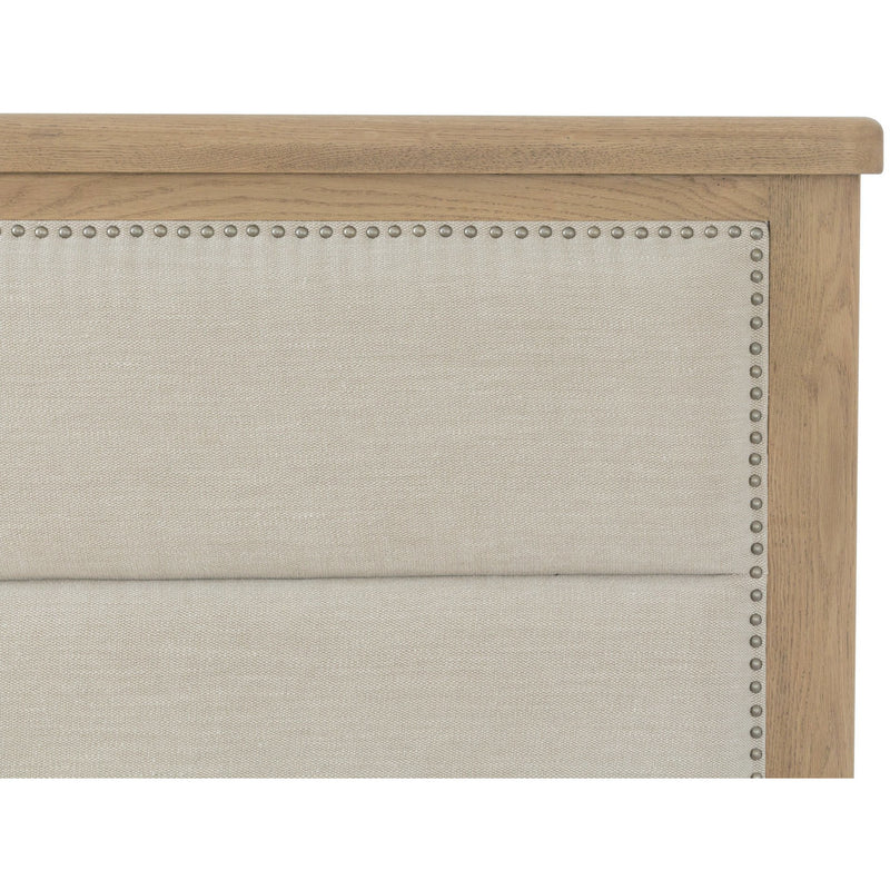 Stoneridge Fabric Queen Bed With Drawers HO-50-FHB