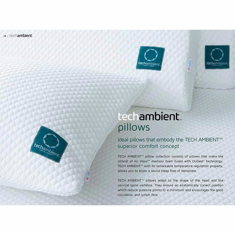 Tech Ambient Traditional Pillow