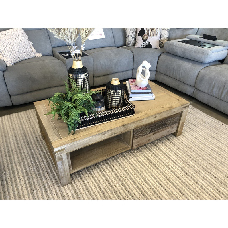 Peninsular Coffee Table Grey