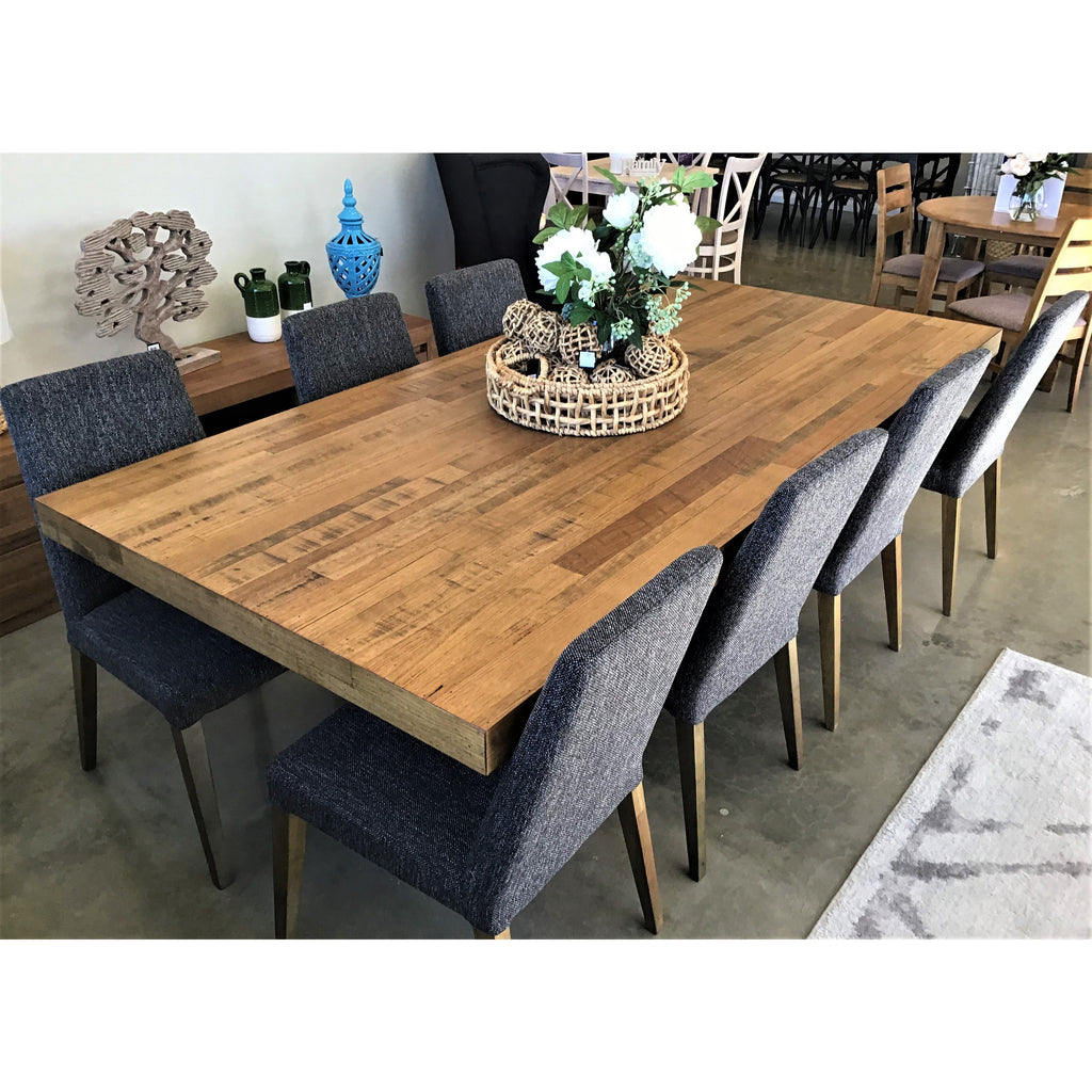 Urban 9 Piece Dining Suite Tasmanian Oak 2400 Table