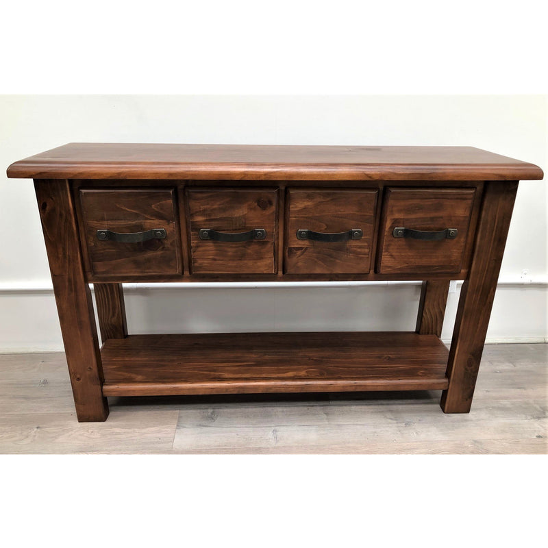 Orlando Hall Table 4 Drawer & Shelf