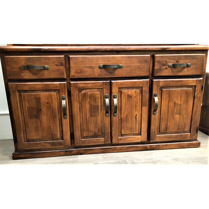 Orlando Buffet 4 Door 3 Drawer (Rustic look, may display minor markings & imperfections)
