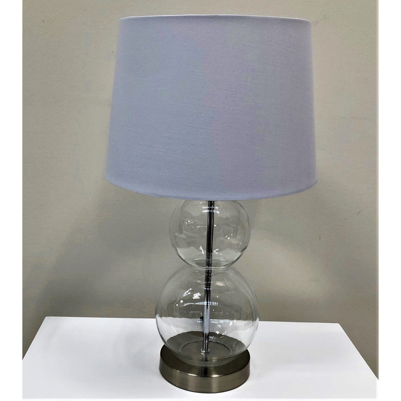 Coastal Glass Lamp 52cm