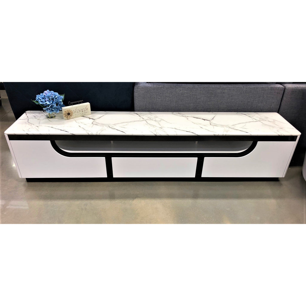 Tiffany Marble TV Unit