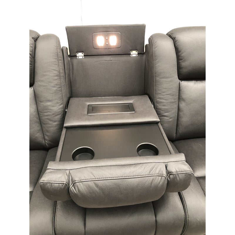 Mac Series Electric 3S Media Recliner + 2S Theater Recliner + 1S Recliner Fabric