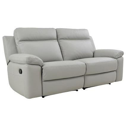 Monica 2.5 Seater + 2 Recliners Full Leather - Taupe
