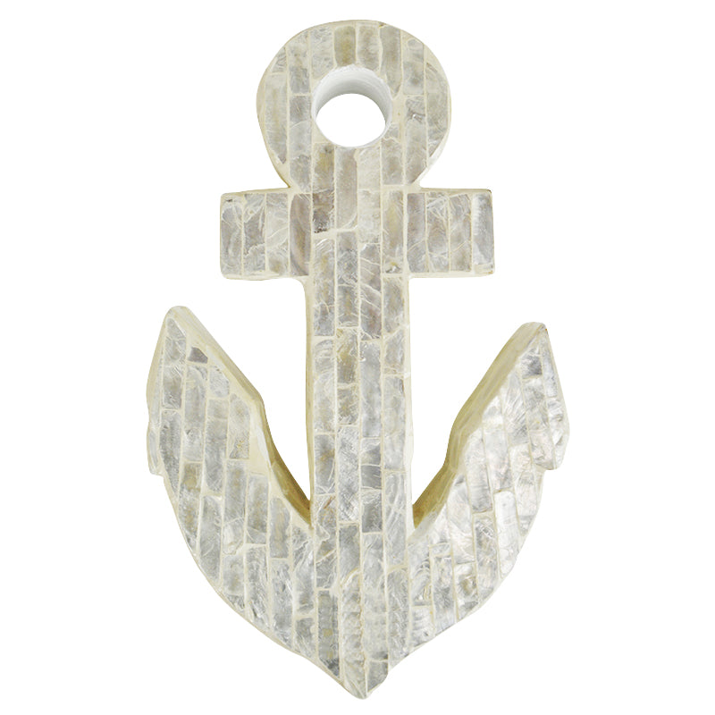 Shiloh Inlay Anchor 15.5x25cm Ivory
