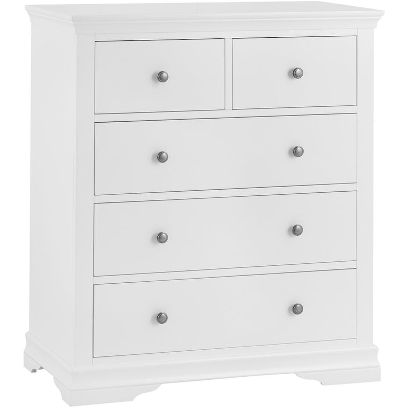 Snow White 5 Drawer Chest (2 over 3) SW-2O3-W