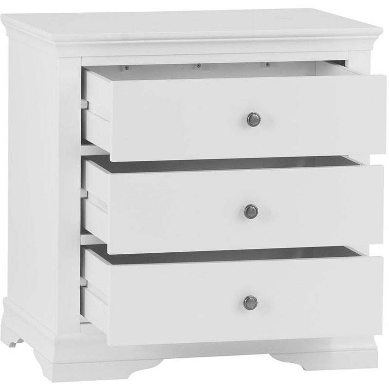 Snow White 3 Drawer Chest SW-3DC-W