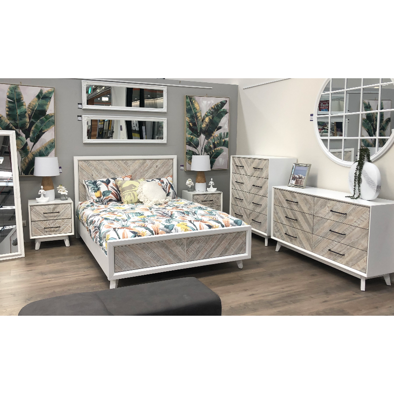 Sea Breeze Queen Bed