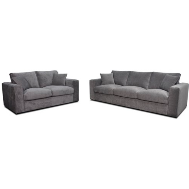 Tommy 3 Seater + 2 Seater Lounge Venice Fabric