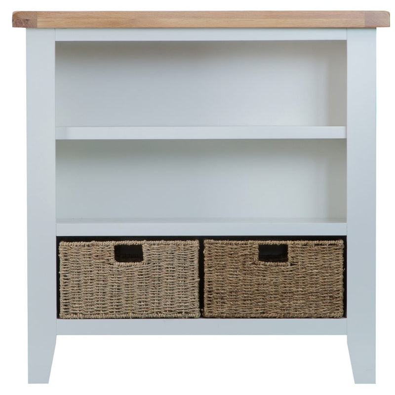 Tamarama Small Wide Bookcase TT-SWB-W