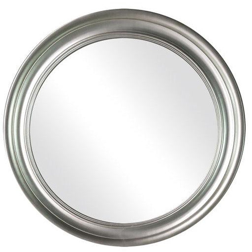 Thompson Round Mirror Soft Champagne 90cm