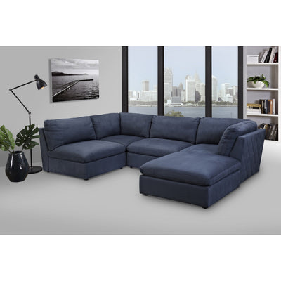 Atlantic Corner Lounge With Ottoman