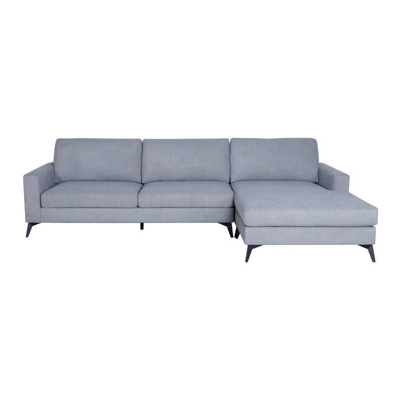 Ilmorgan Reversible 2 Seater Chaise with Ottoman